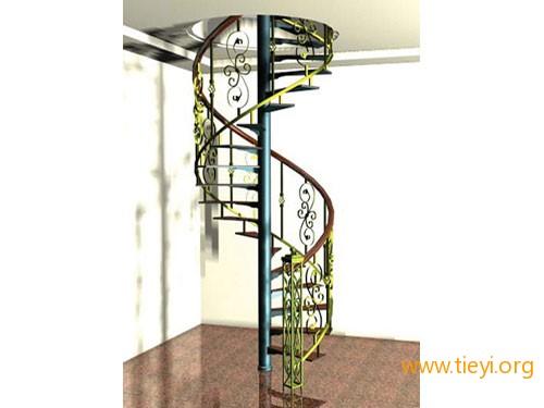 福州铁艺厂家教您旋转铁艺楼梯如何选购?