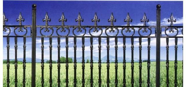 铁艺护栏表面装饰
