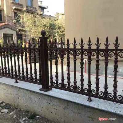 山前金属SQJS 铝艺护栏  护栏 园艺护栏 庭院铝艺护栏 别墅护栏