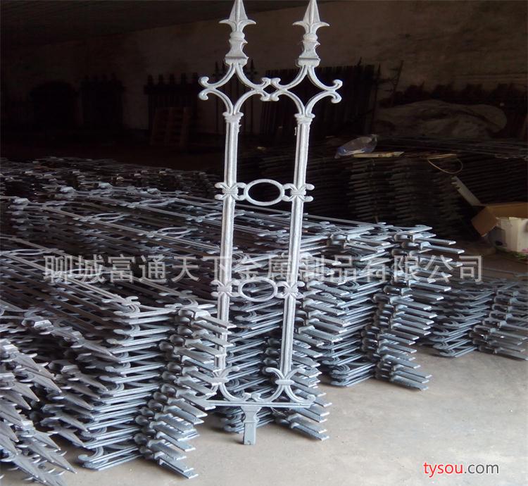 山东铸造订做 铁栅栏小区铁艺围墙护栏 欧式护栏别墅欧式护栏
