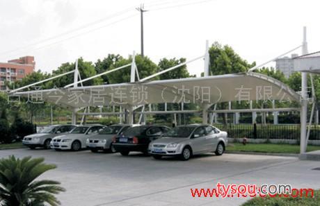 提供服务古通今收费站、景观亭、亭车棚、体育馆膜结构、张拉膜、帽子膜停车棚