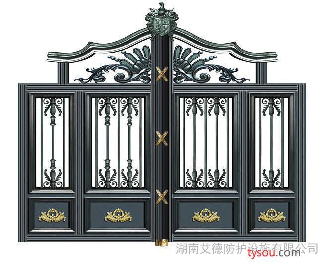 武陵红铜门|铝艺铝艺阳台护栏、庭院围栏、楼梯扶手 武陵红铜门铝艺
