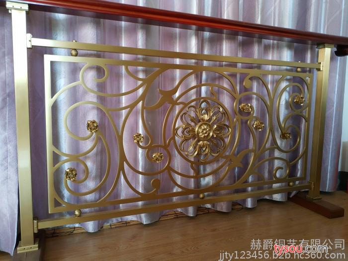 赫爵铜艺 铜艺楼梯
