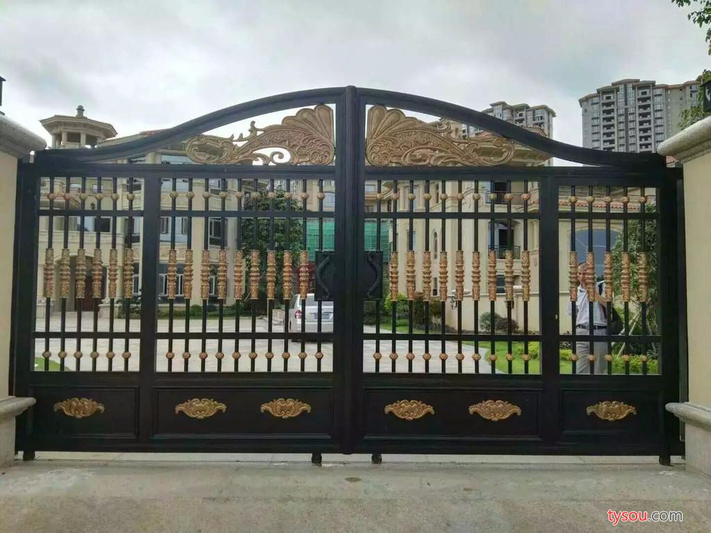 广州艺陶居金属构件有限公司 铝艺大门