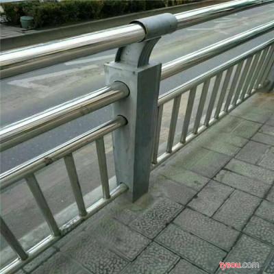 304不锈钢桥梁护栏  不锈钢复合管护栏  桥梁防撞护栏 景观不锈钢人行道栏杆 不锈钢人行道护栏