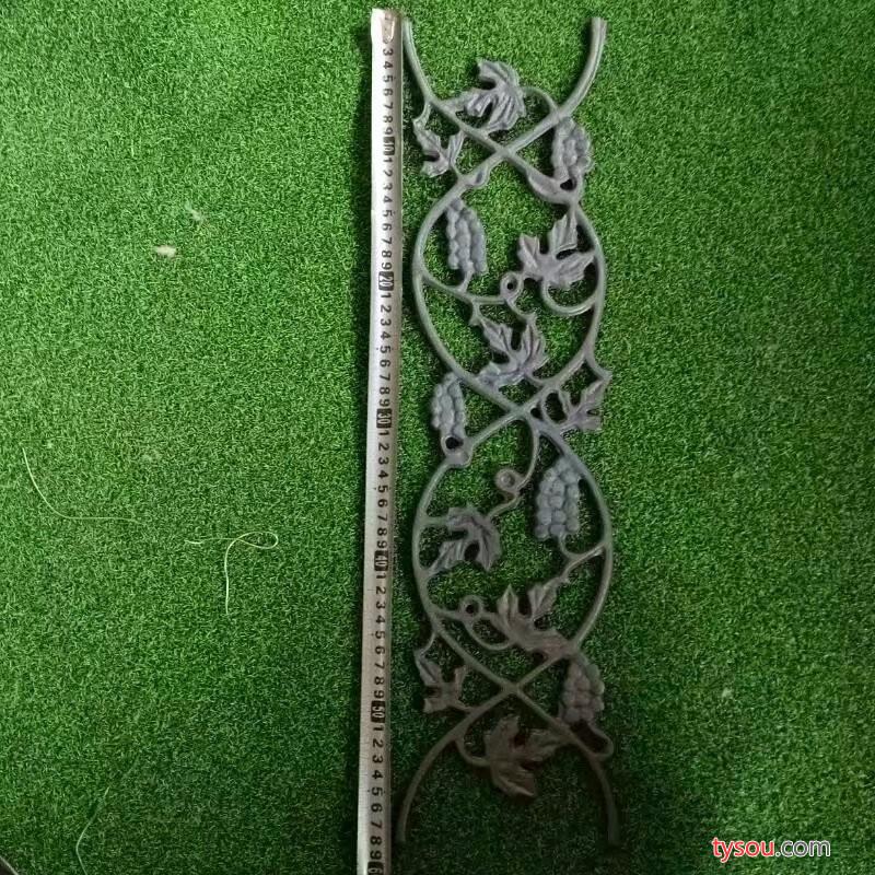 铸铁花 铸铁葡萄花  铁艺配件 铁艺大门配件 铸铁花片