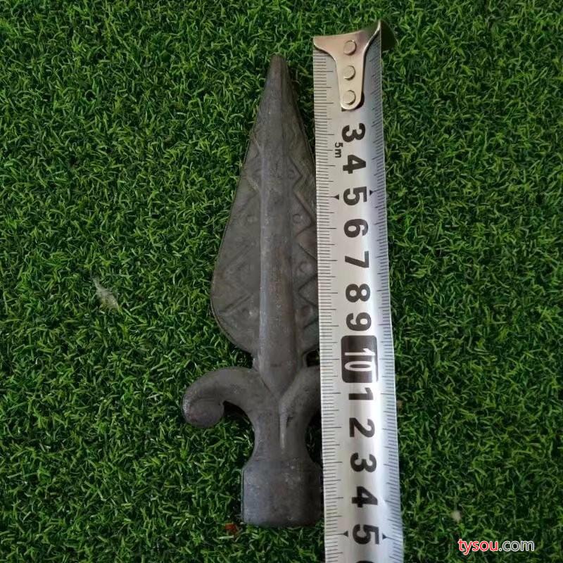 北京  锻打枪尖 锻打矛头  铁艺护栏件  铁艺大门配件