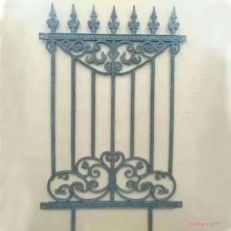 河北   铸铁护栏  铸铁栅栏 铸铁栏杆  玛钢铸铁护栏