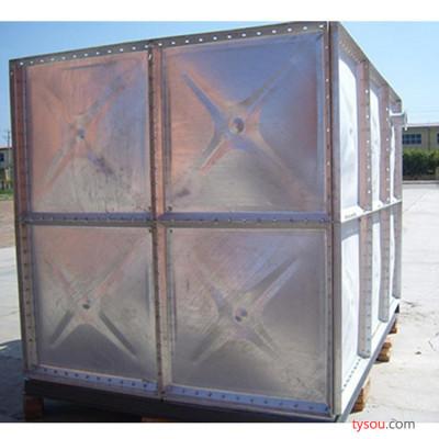 镀锌水箱厂家自销 玻璃钢水箱