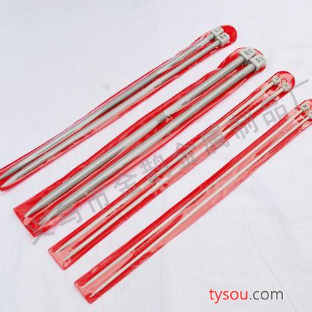 供应喷塑针  铝合金毛衣针系列  品质保证 全国供货