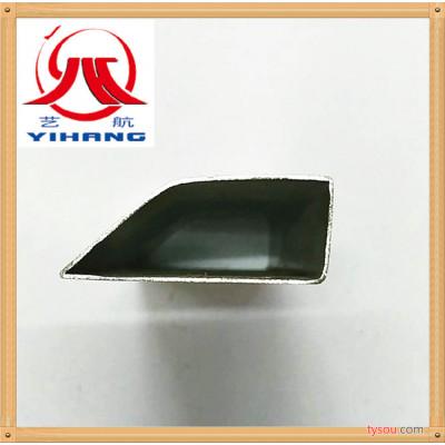 厂家直销不锈钢门窗装饰管不锈钢异型管、不锈钢斜面管可定