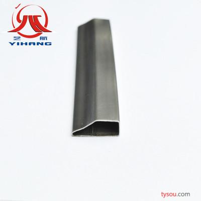 厂家直销光亮、精美、不锈钢制品管不锈钢梯形管批发