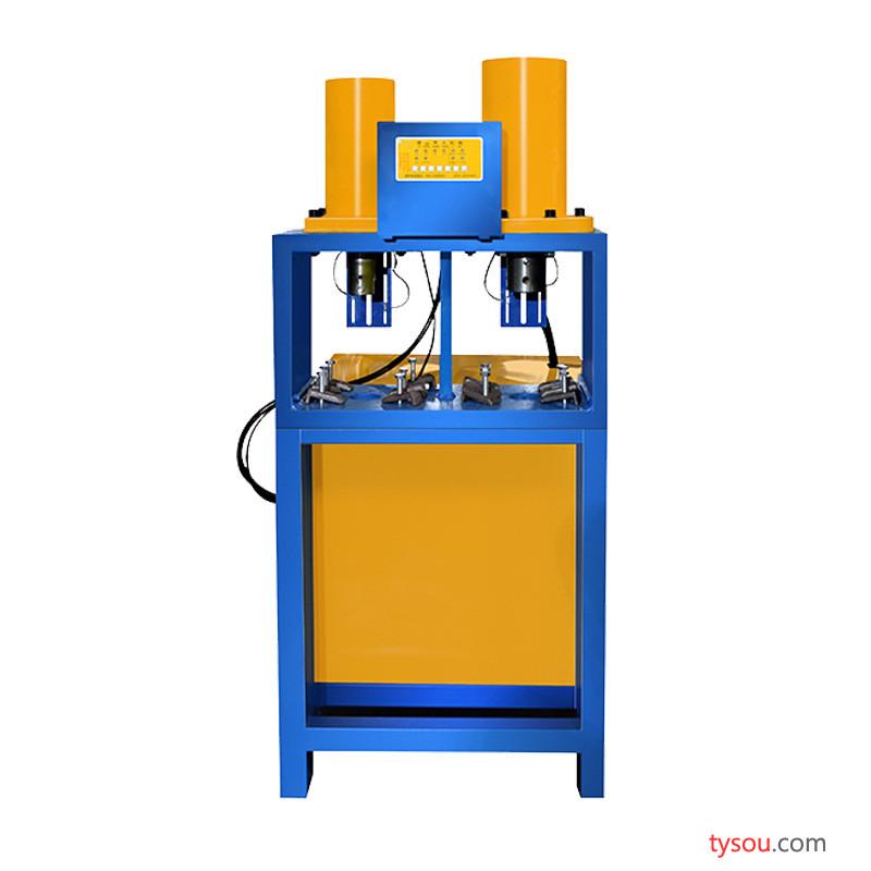 双缸液压冲孔机 多功能不锈钢80缸组合机 金属液压冲孔机