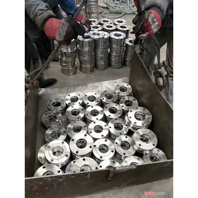 碳钢焊接非标法兰 碳钢镀锌法兰 锻造丝扣法兰加工国标锻造法兰