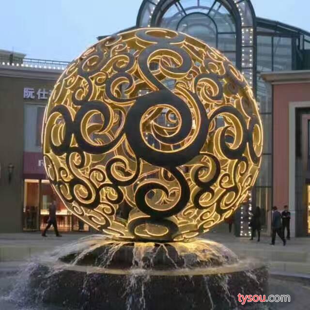 大型雕塑工艺品 现代城市广场摆饰装饰品 不锈钢雕塑