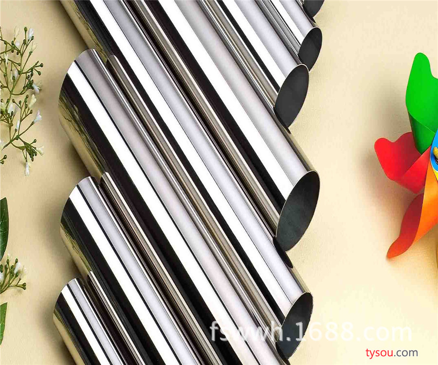 供应广东不锈钢管厂家 专业生产304精品管 201家具制品管装饰管