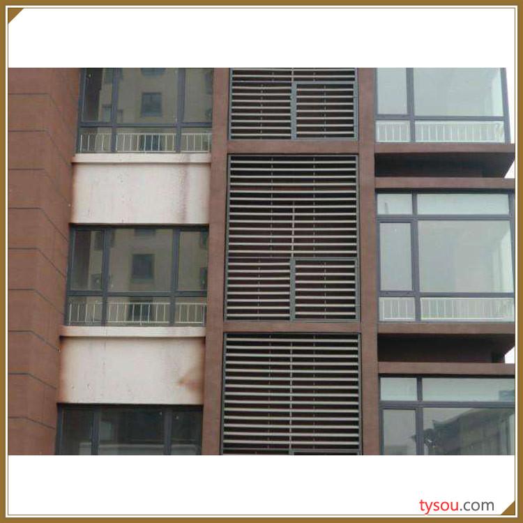 奥锐斯小区百叶窗 锌钢百叶窗 全国供应