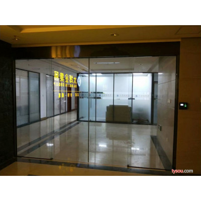 天津红桥区安装感应门定做肯德基门专业公司