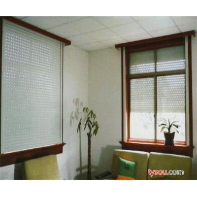 厂家直销HH-0023型欧式遥控电动防盗防虫保温卷帘窗铝合金
