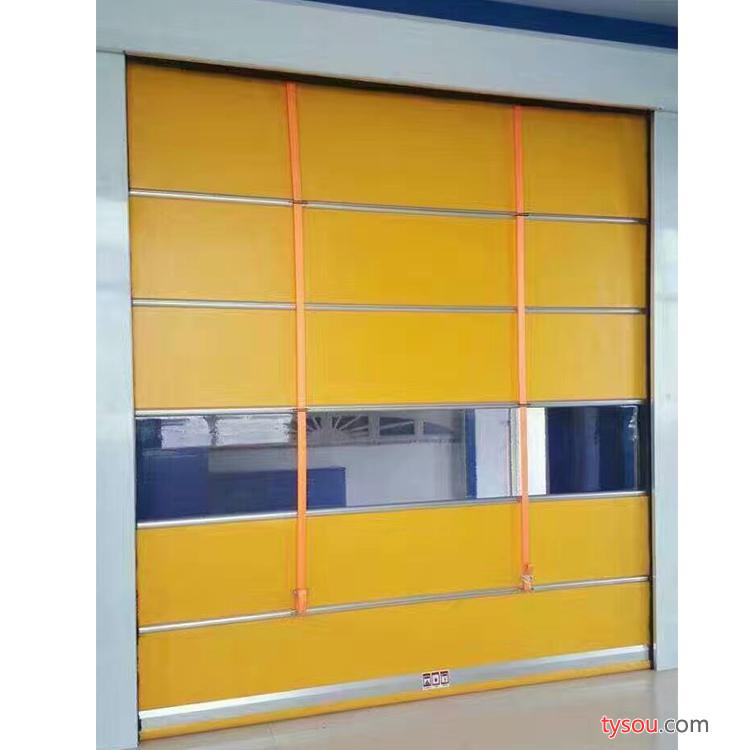 河北【固佳】厂家直销定制PVC快速门高速自动升降门工厂车间电动快速卷帘门