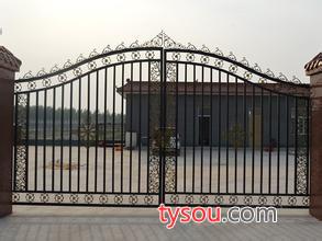 昊特门业 铁艺大门 围栏 平移门加工安装