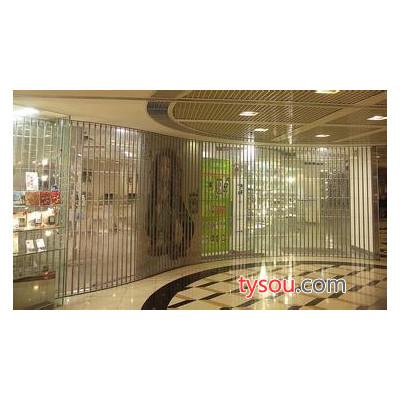 天津安装弧形水晶门,折叠水晶门,侧向水晶卷帘门厂家