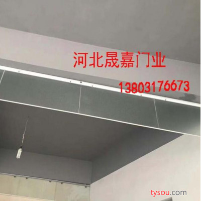 夹丝玻璃挡烟垂壁供应厂商_固定式挡烟垂壁_玻璃挡烟垂壁_亿晟嘉合