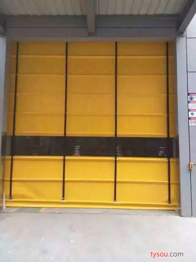 顾得堆积式快速门 室内外电动堆积快速门 食品纺织厂可用