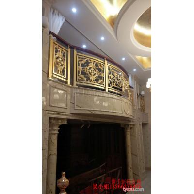 安泽铝艺楼梯种类 铝艺护栏旋转效果图片