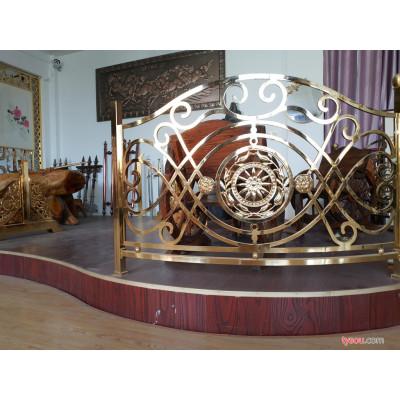 铜艺扶手楼梯