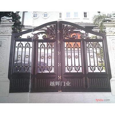 SHYH系列铝艺电动遥控大门别墅铝门庭院大门防盗门