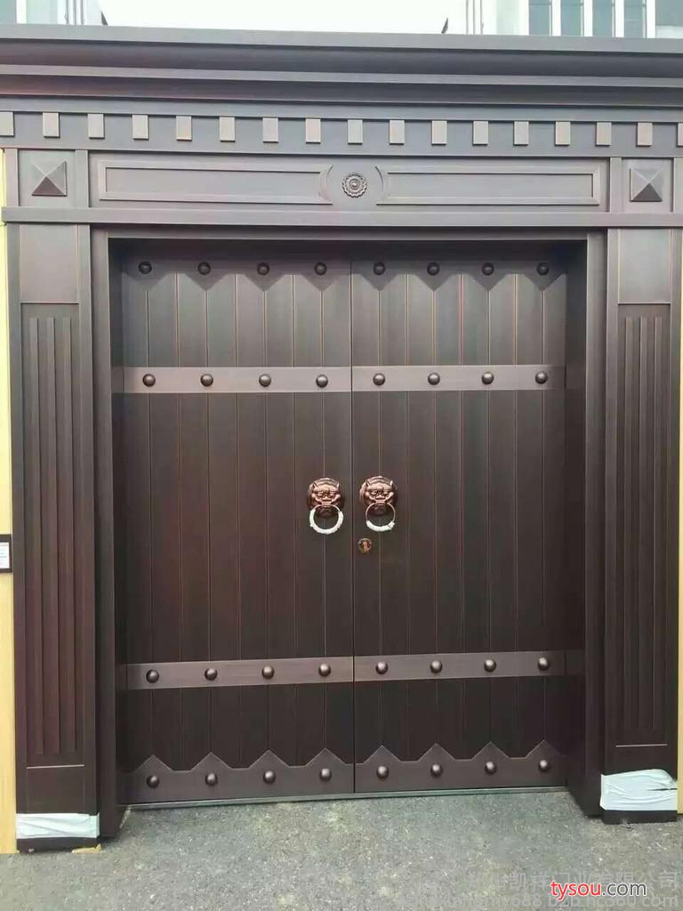 凯祥门业新中式铜门  铜门厂家  铜门价格  定制铜门  价格优惠
