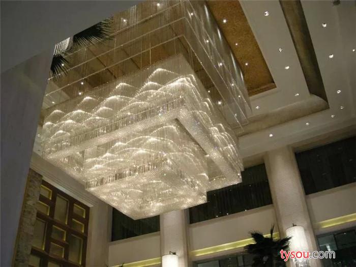 水晶工程灯 工程灯饰  水晶吊灯 酒店灯具 非标灯具 工程灯图片