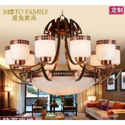 现代新中式吊灯