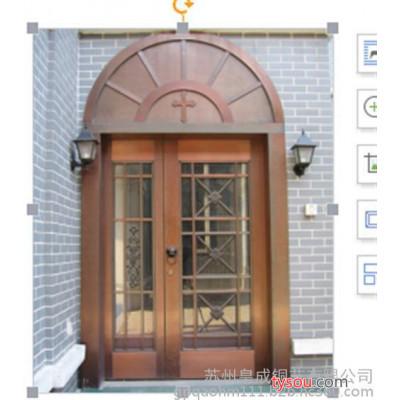 铜门,皇成铜艺,铜门