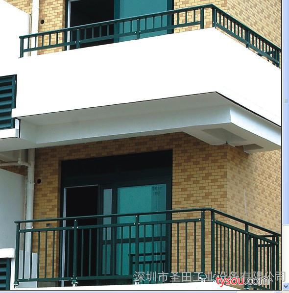 供应圣田锌钢阳台护栏/锌钢阳台栏杆多少钱一米/锌钢阳台护栏价格