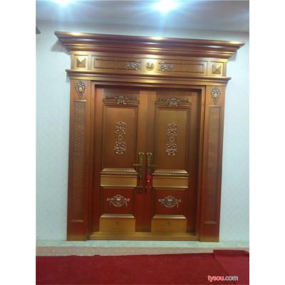 凯祥门业 铜欧式对开门  价格优惠    质量保障