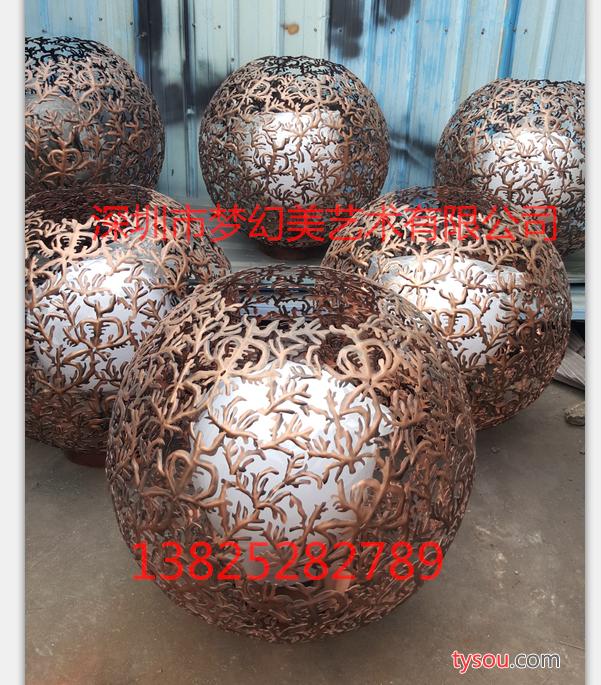 不锈钢镂空球雕塑  灯光雕塑造型 景观亮化灯光雕塑 不锈钢宫灯雕塑 不锈钢镂空圆球雕塑