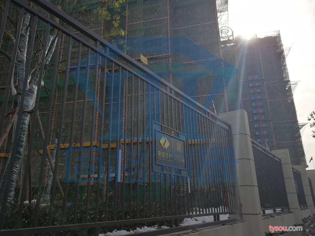 江苏固格澜栅 厂家直供 镇江扬州 锌钢护栏栏杆 别墅小区庭院围墙栅栏围栏
