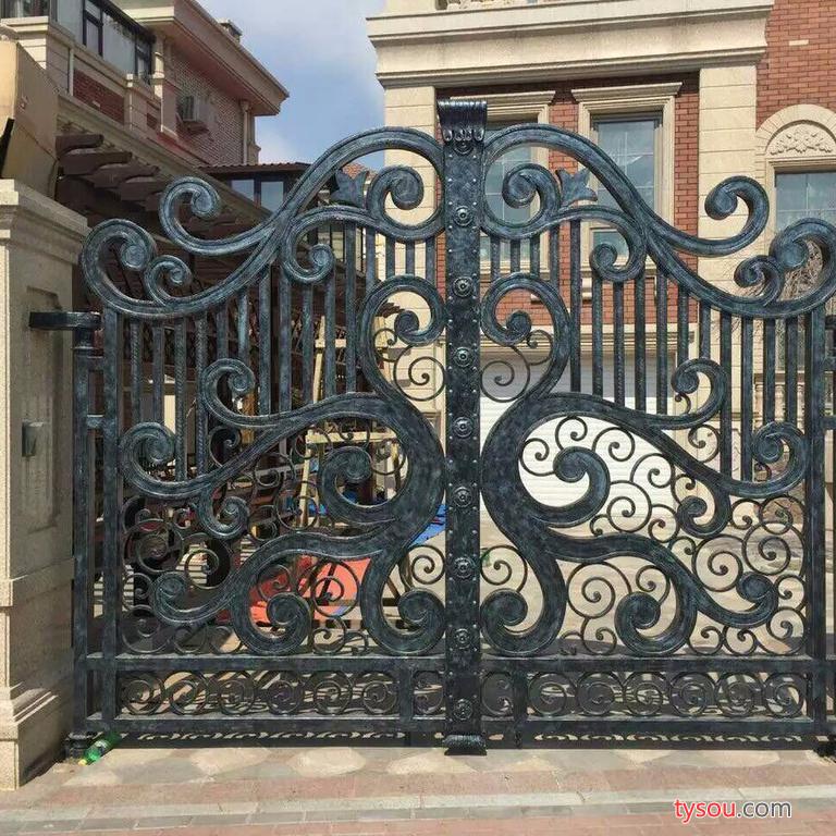 宁波欧美艺铁艺、铝艺制作工程有限公司(Omy) 可定制各式欧式、中式铝艺大门、平移门、电动门