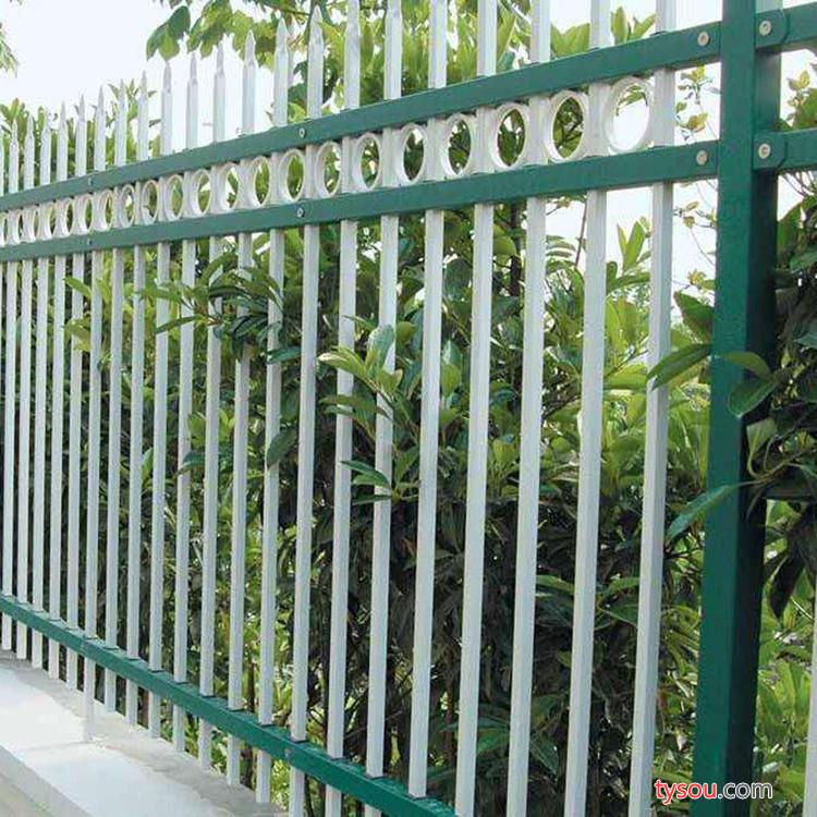 【恒特】 阜阳彩色锌钢护栏 小区别墅阳台锌钢护栏网 新型楼梯锌钢护栏