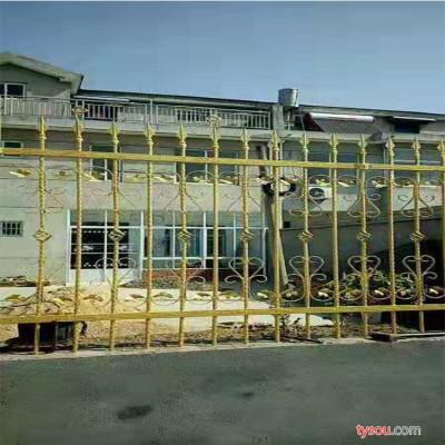 临朐众荣 铁艺护栏 铁艺庭院护栏 庭院护栏厂家定制 铁艺护栏生产直销 铁艺庭院护栏采购批发