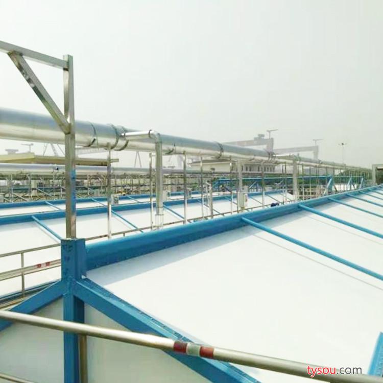 WH新型膜结构建材 膜结构污水池 环保材料 厂