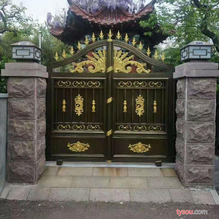 城市别墅庭院大门庭院铝艺大门支持加工定制