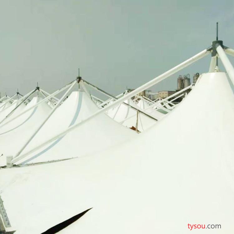 新型膜结构建材 环保材料 膜结构污水池 厂家热销