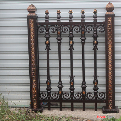 小区护栏 定制小区护栏 围栏 铁艺护栏 铁艺围栏 围墙栏