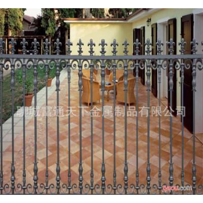 热销新款铁艺护栏 小区铝艺围墙 ,花型多样,质量保障