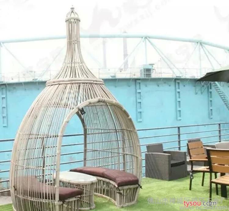 铁艺吊篮室内户外阳台秋千吊椅成人鸟巢单双人摇椅 摇篮