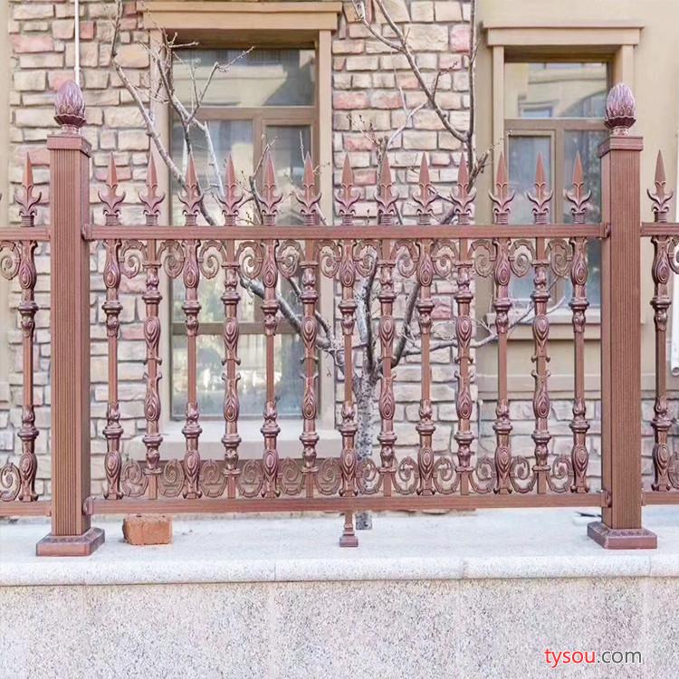铝艺护栏 防护栏 庭院别墅护栏 支持加工定制