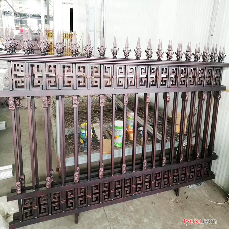 GX 铝艺护栏 小区防护栏 庭院别墅护栏  优质护栏 支持加工定制